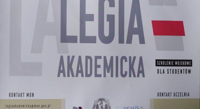 Legia akademicka plakat reklamowy