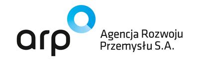 """Logo ARP """"Agencja Rozwoju Przemysłu S.A."""""""