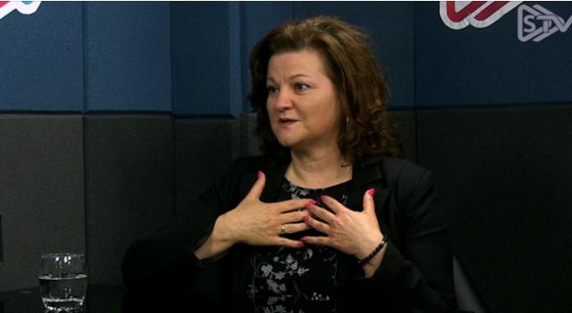 Małgorzata Makowska-Brzychczyk w programie STV