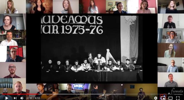 Kadr z filmu Święto Patrona UJK