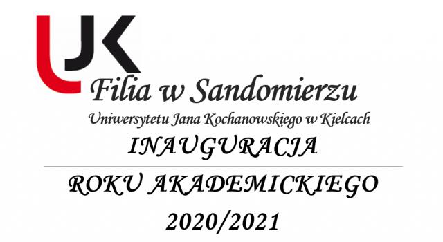 Filia w Sandomierzu, Inauguracja roku akademickiego 2020/2021