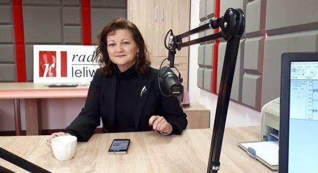 M. Makowska w radiu leliwa