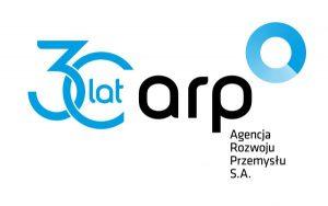Logo trzy lata Agencji Rozwoju Przemysłu